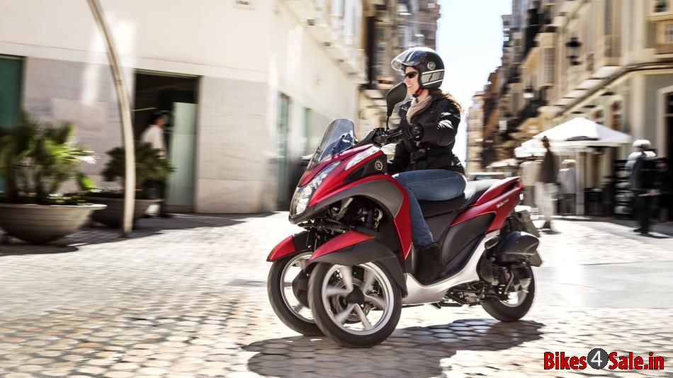 yamaha tricity 125 price specs mileage colours photos. Black Bedroom Furniture Sets. Home Design Ideas