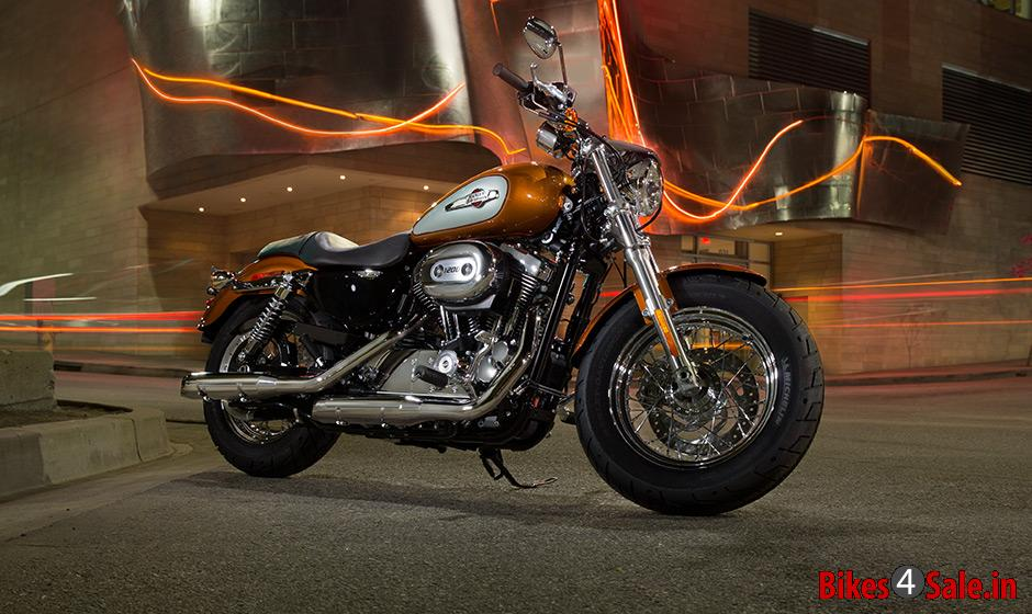 Slide 3 2014 Harley Davidson Sportster 1200 Custom A