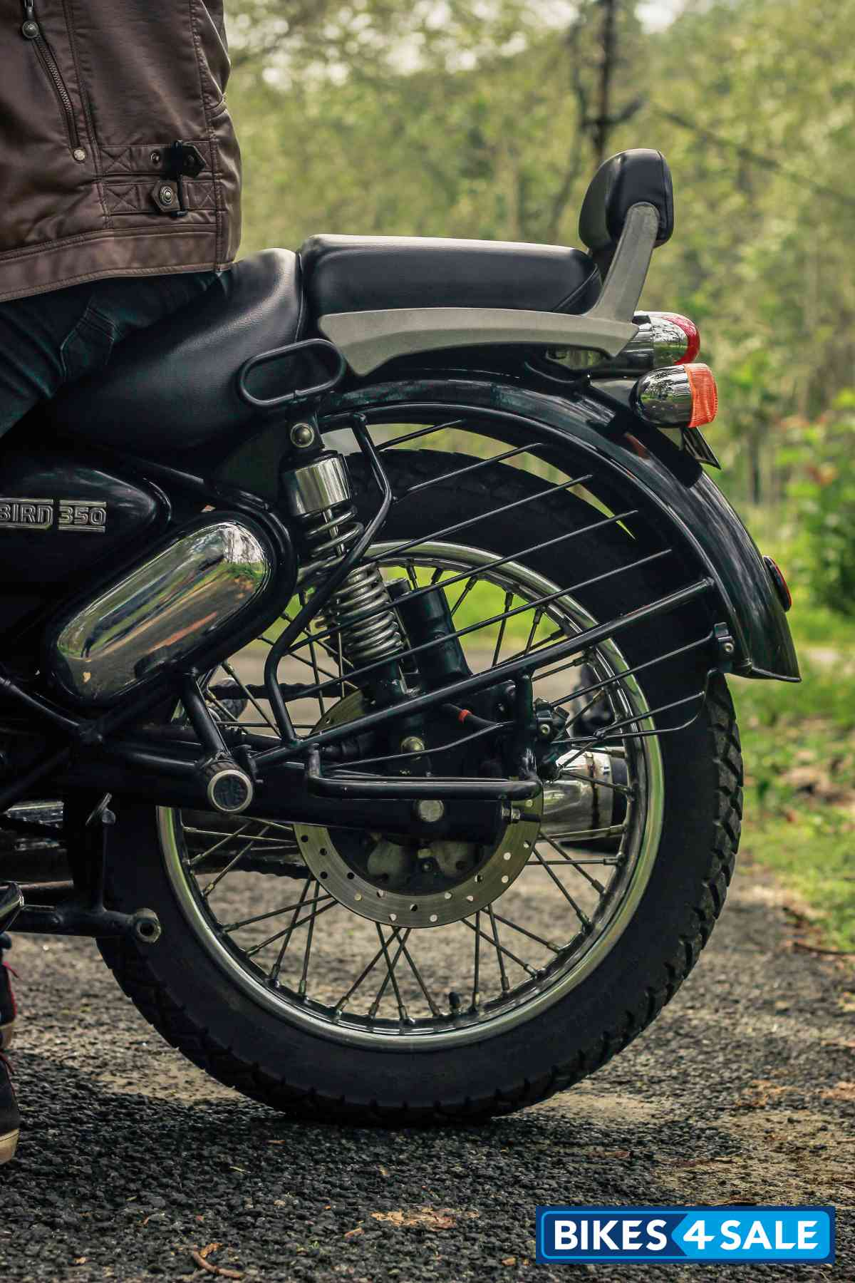 Royal Enfield Thunderbird 350 Suspension