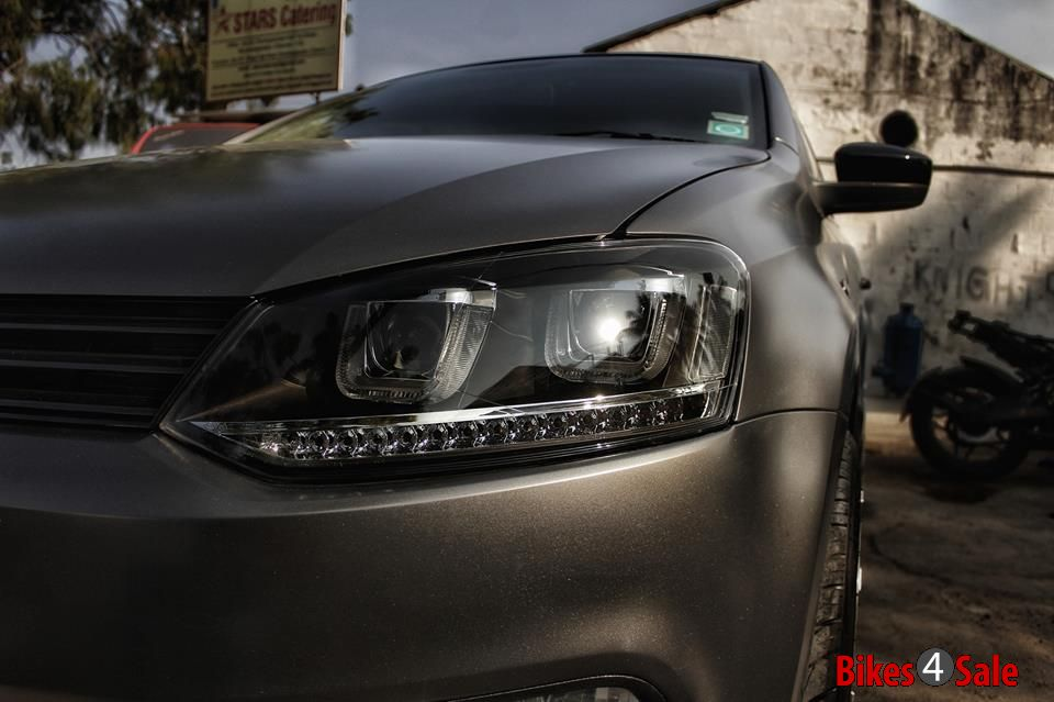 Knight Auto Customizer  Satin Grey VW Polo