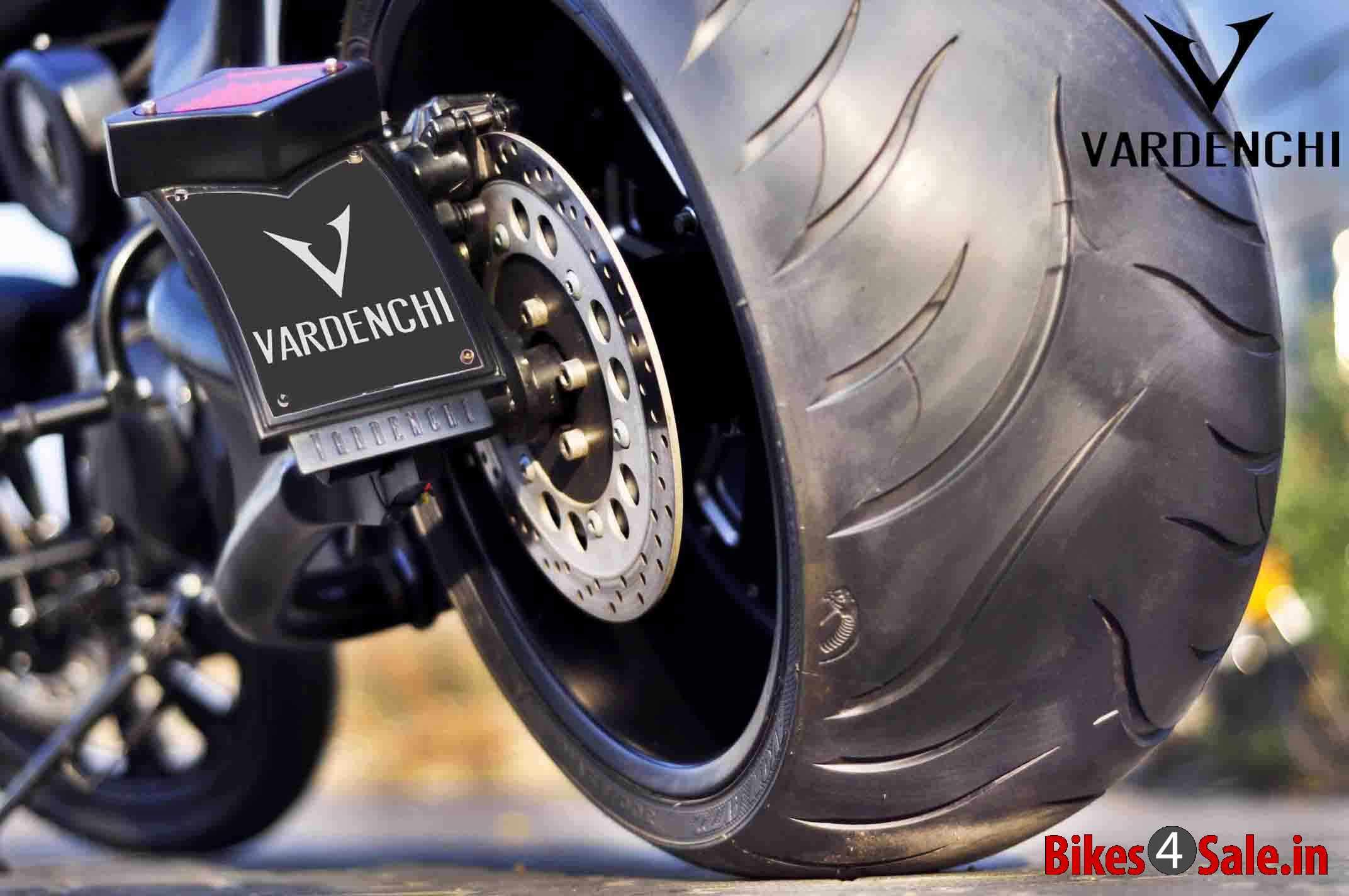 Slide 28 Gigantic 300mm Rear Tyre Of The Vardenchi