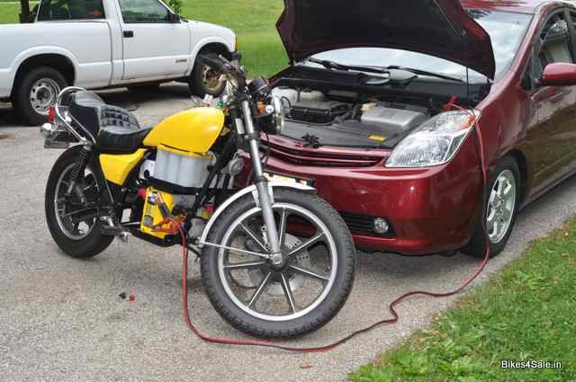 How to Start a Motorcycle When Battery is Down? - Bikes4Sale