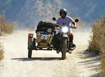 Ural Bike With Sidecar