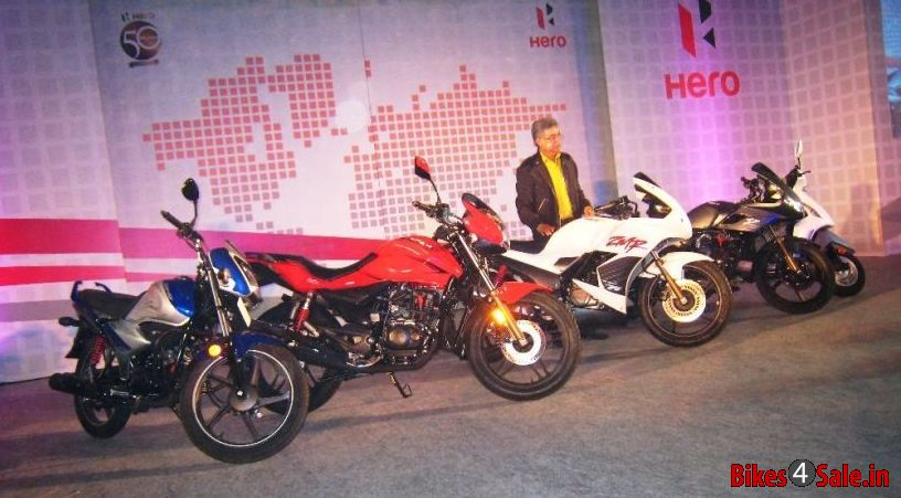 2013 Hero MotoCorp Two-wheelers Line-up