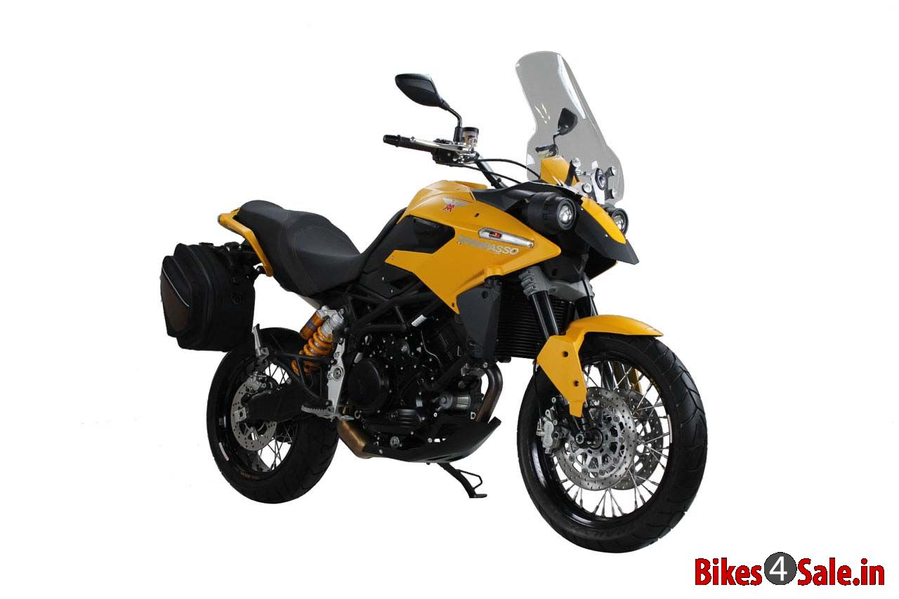 2013 Moto Morini Granpasso 1200 Travel Yellow