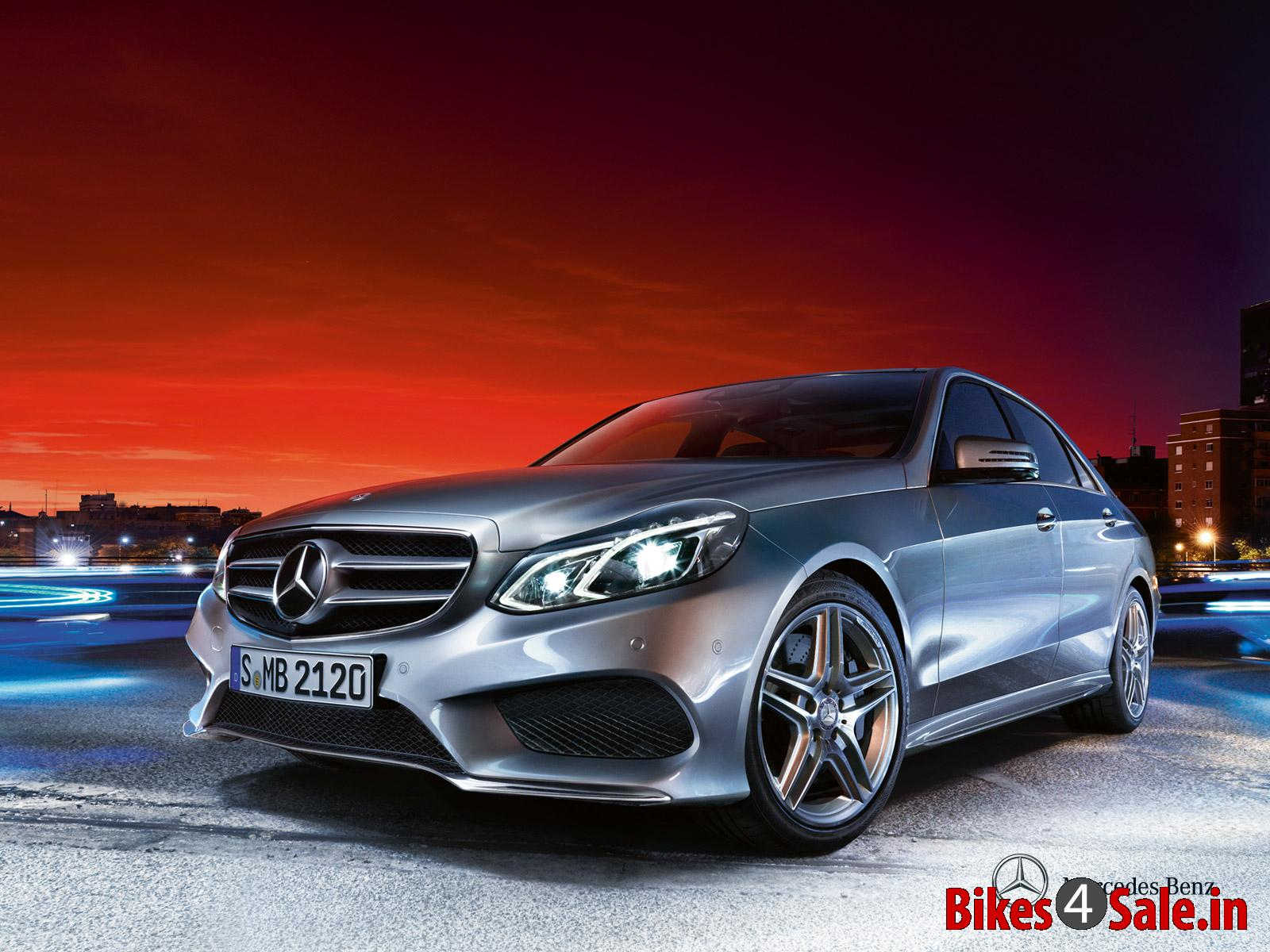 2013 Facelifted Mercedes-Benz E Class