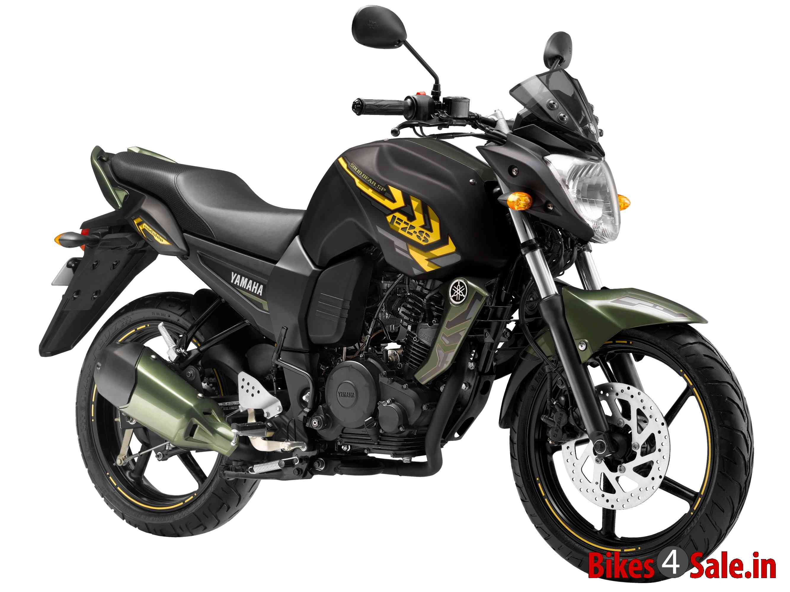 2013 Yamaha FZ-S Battle Green Special Edition