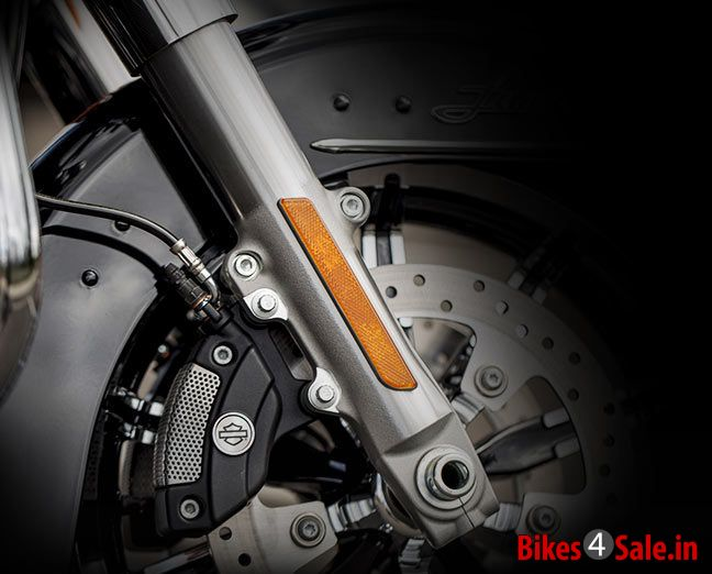2014 Harley Davidson Project Rushmore Reflex Linked Brakes with ABS
