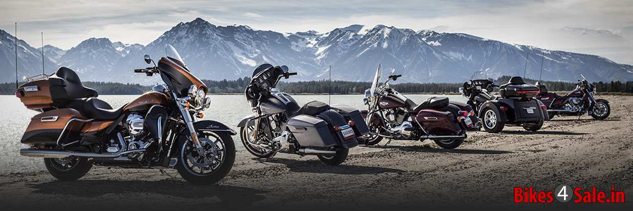 2014 Harley Davidson Line-up Project Rushmore