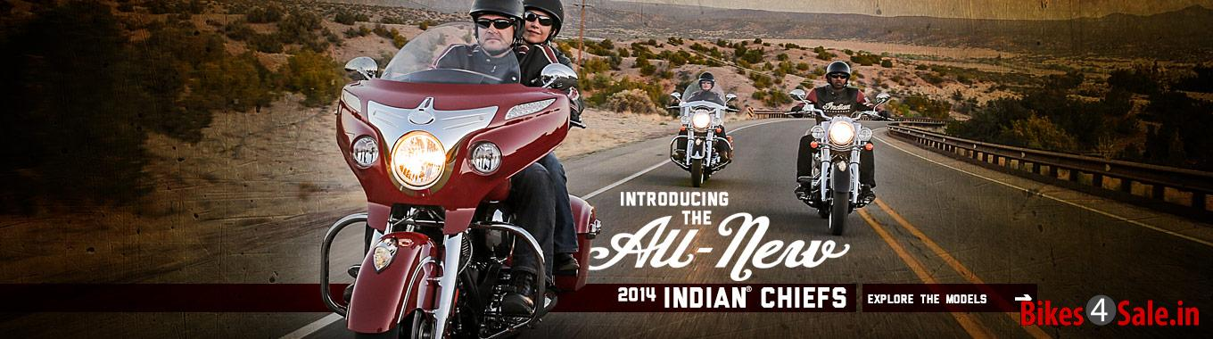 2014 Indian Motorcycle Chief Line-up