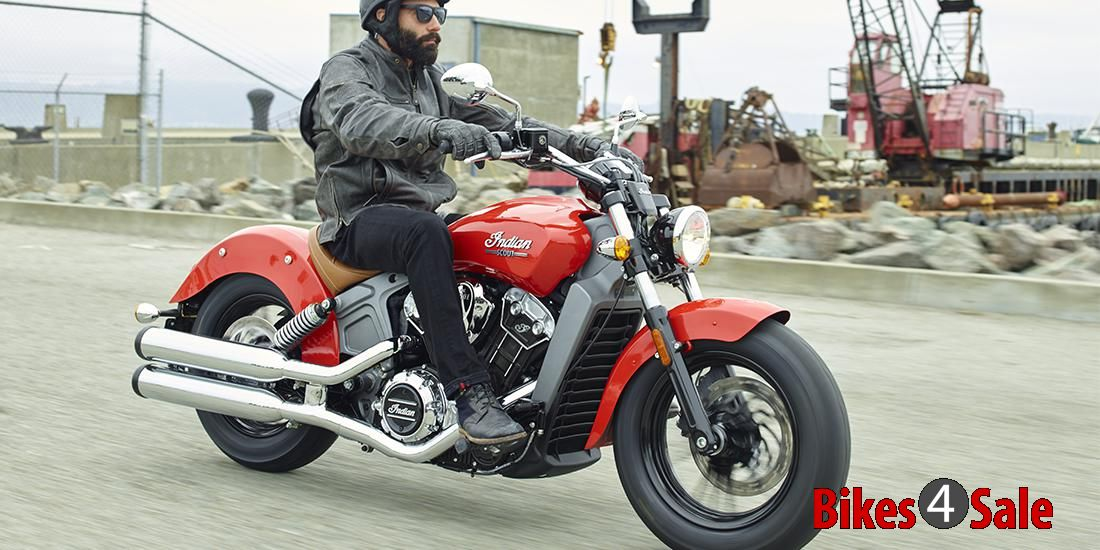 2015 Indian Motorcycle Scout Ride