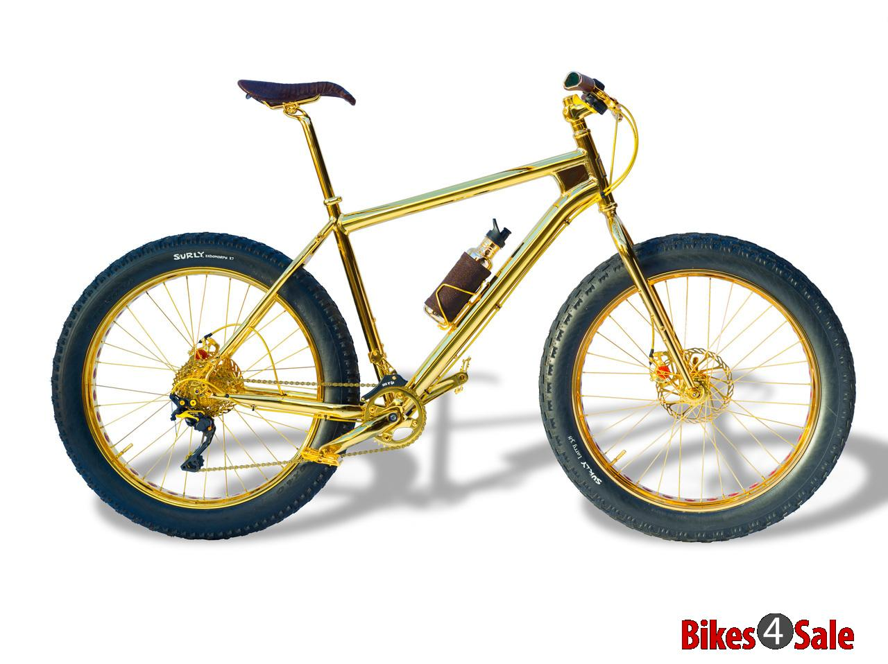 24k Gold Extreme Mountain Bike 1