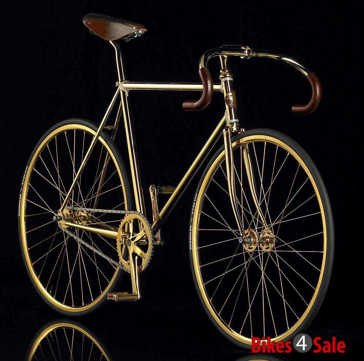 Aurumania Crystal Edition Gold Bike 3