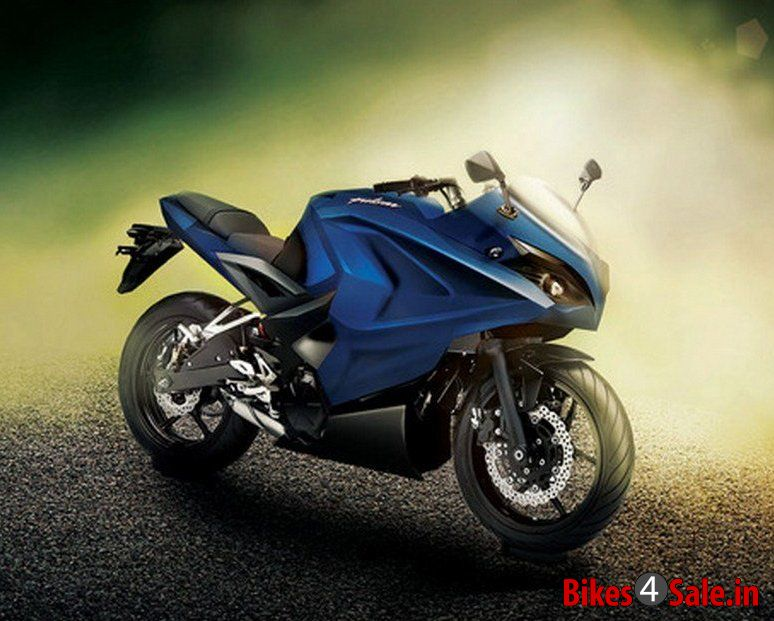 Bajaj Pulsar 375 Rendered