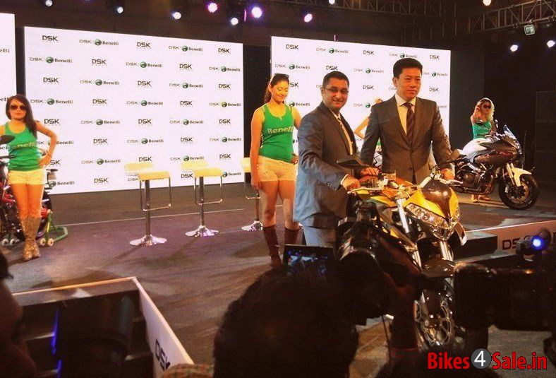 Benelli Launch Event Girls
