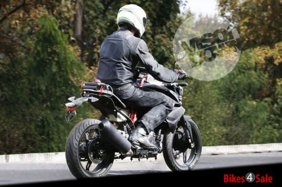 Bmw Tvs Bike Spy