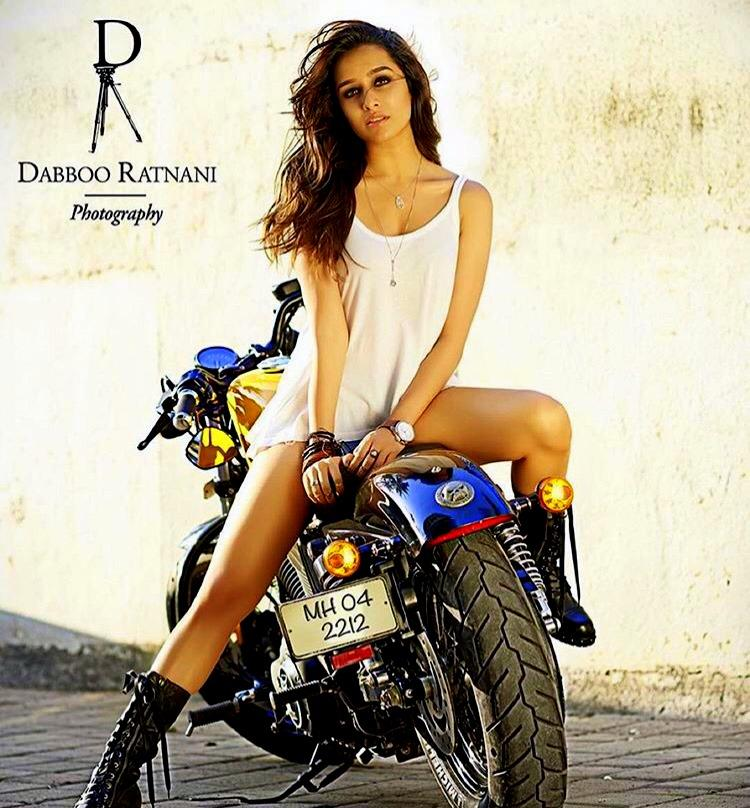 Bollywood Biker Girl Shradha Kapoor