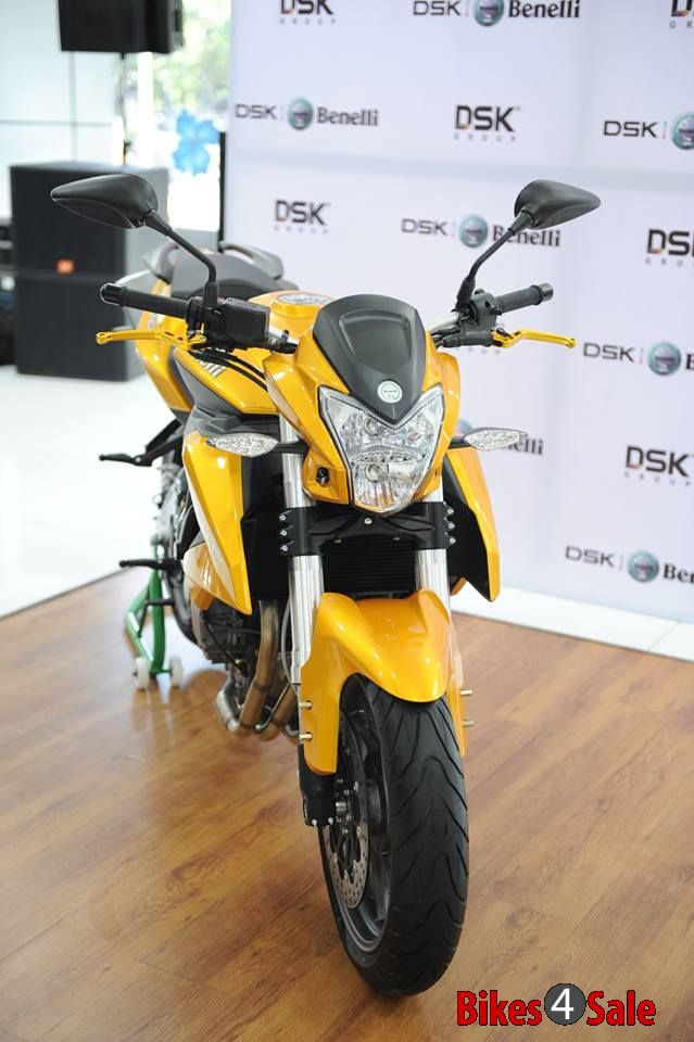 Dsk Benelli Tnt 600i Limited Edition Front