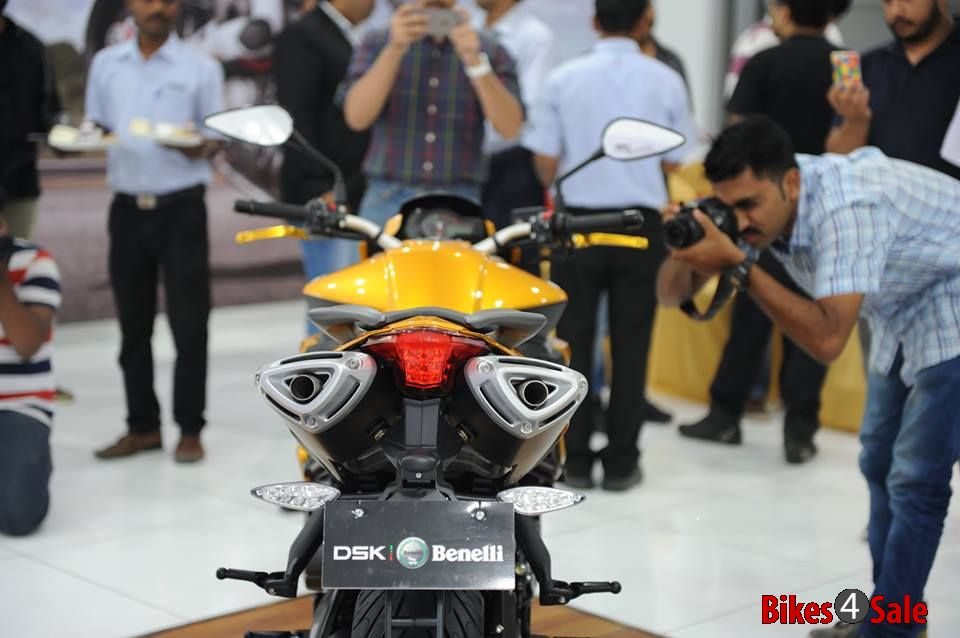 Dsk Benelli Tnt 600i Limited Edition Rear