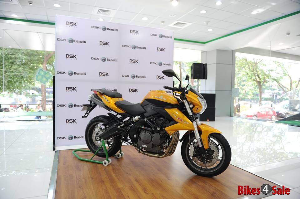 Dsk Benelli Tnt 600i Limited Edition Side