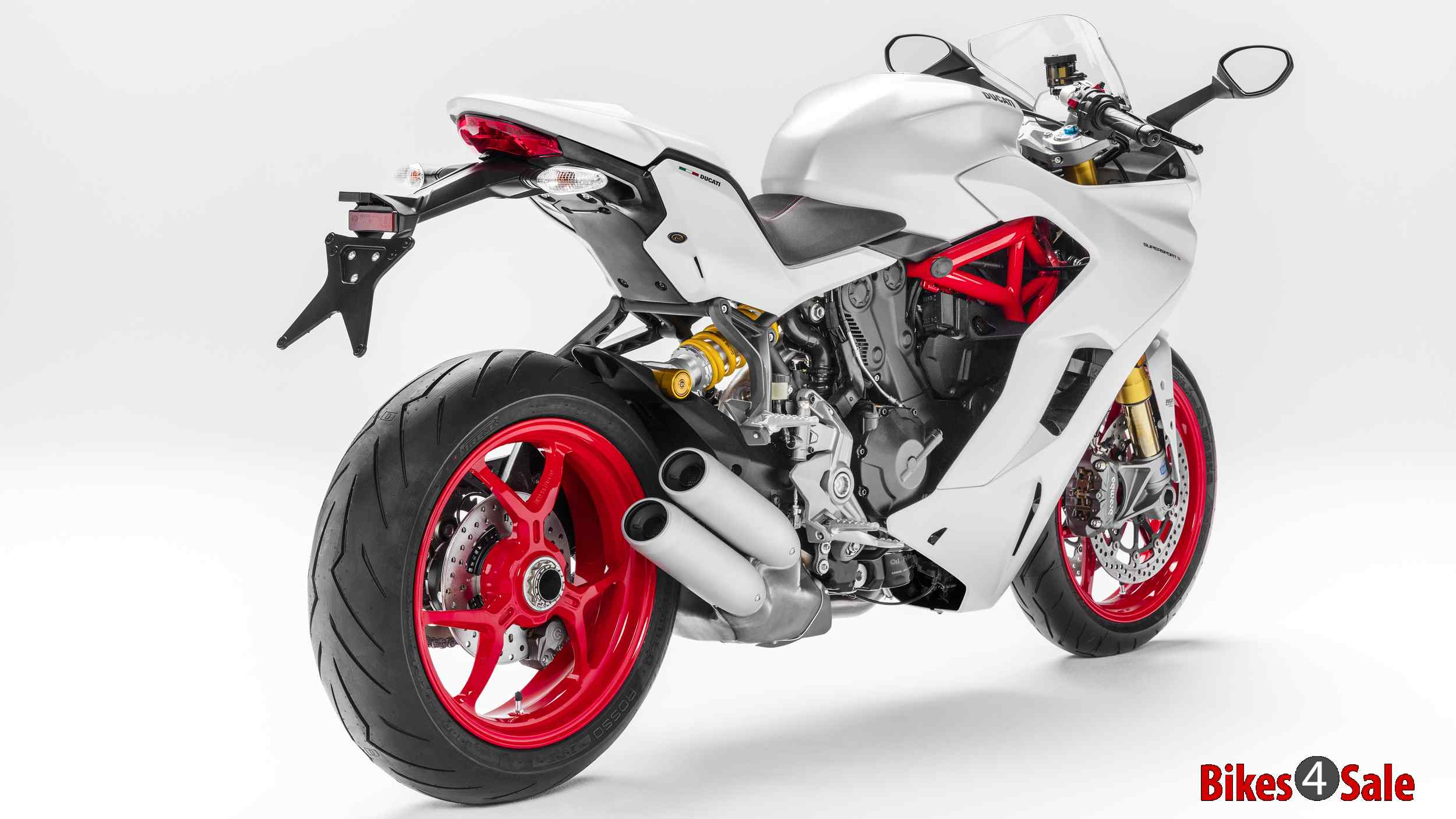 Ducati Supersport Rear View