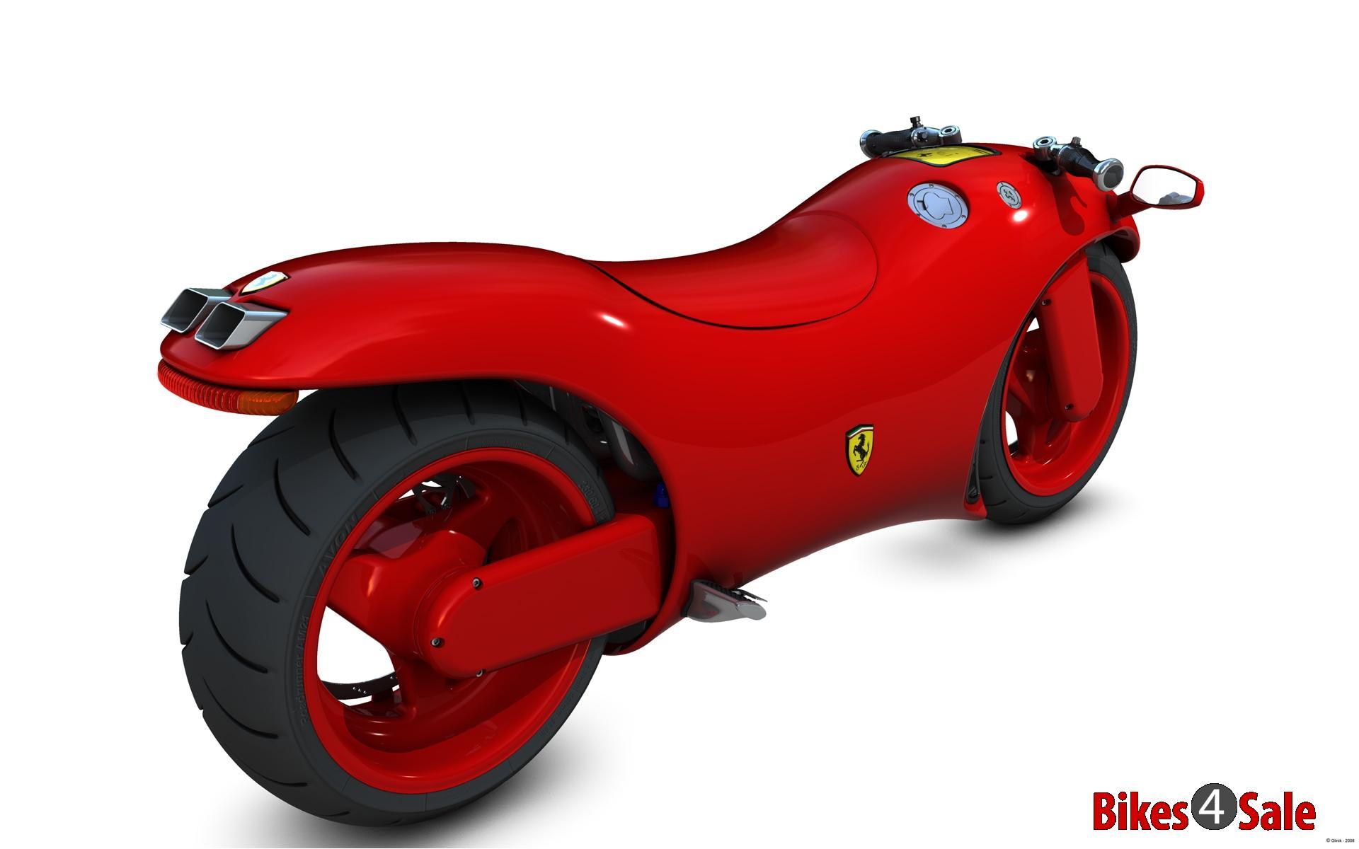 ferrari's concept two-wheeler - bikes4sale
