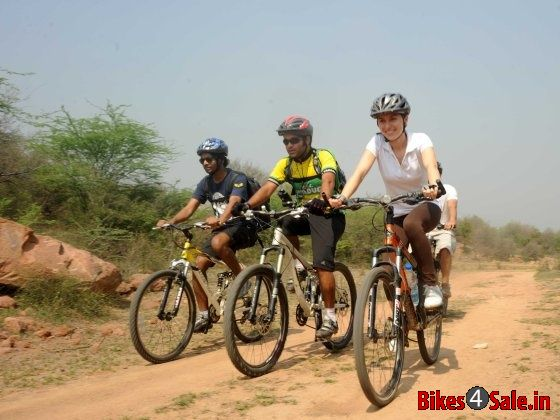 Firefox Firestorm Mountain Bike Race in Delhi.