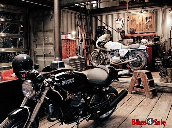 Garage For Motorcycle