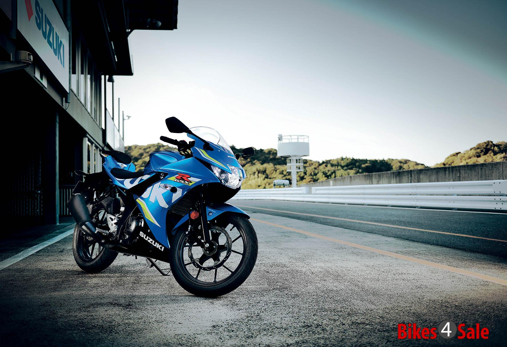Gsx R125 Front View