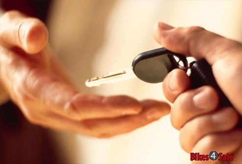 Handing Over Vehicle Key