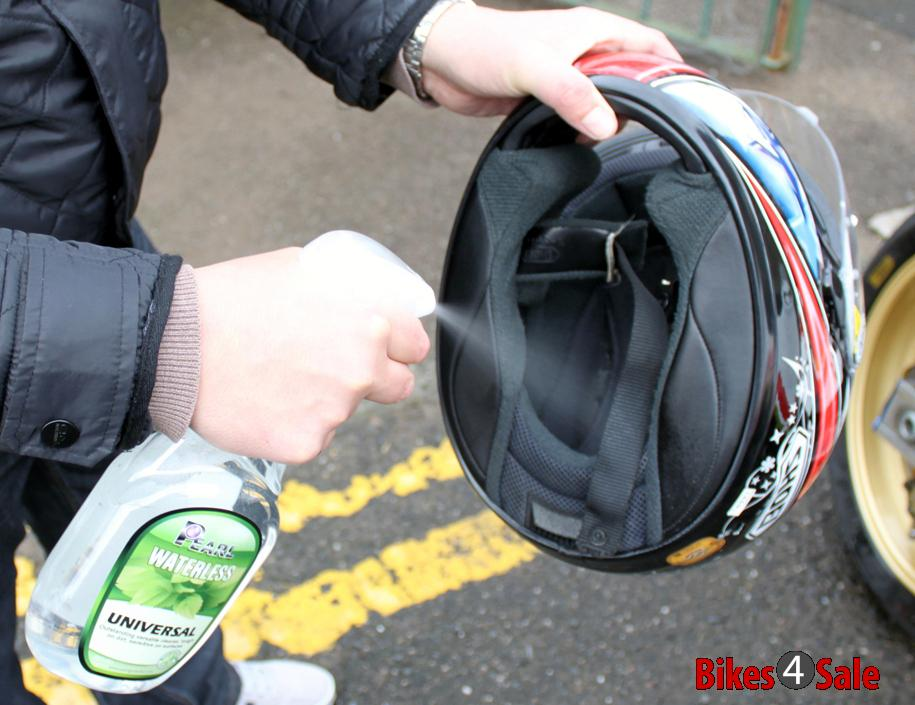 Helmet Washing