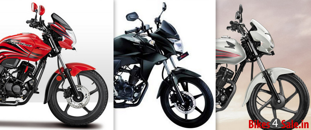Hero Passion X Pro Vs Honda Dream Yuga Vs Honda CB Twister