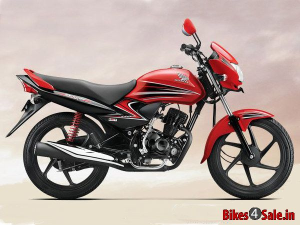 Honda Dream Yuga Special Edition Sporty in Red Color