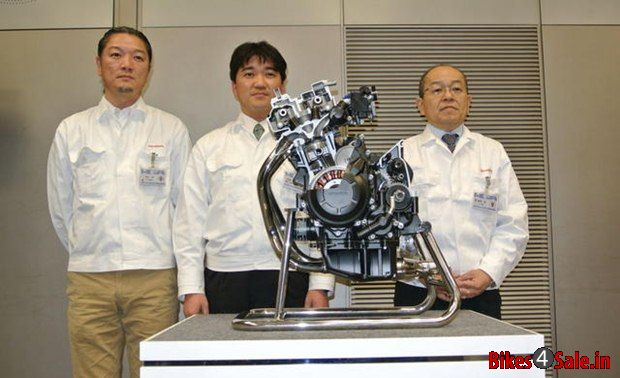 Honda New 400 cc engine
