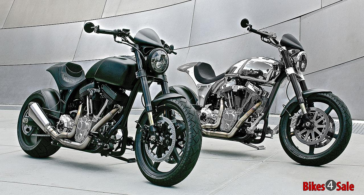 Krgt 1 Arch Motorcycles Silver And Black
