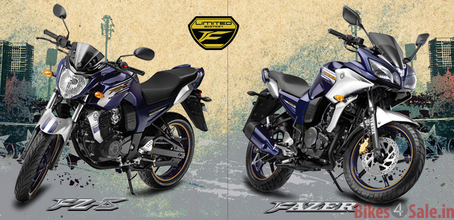 Limited Editions of FZ-S and Fazer