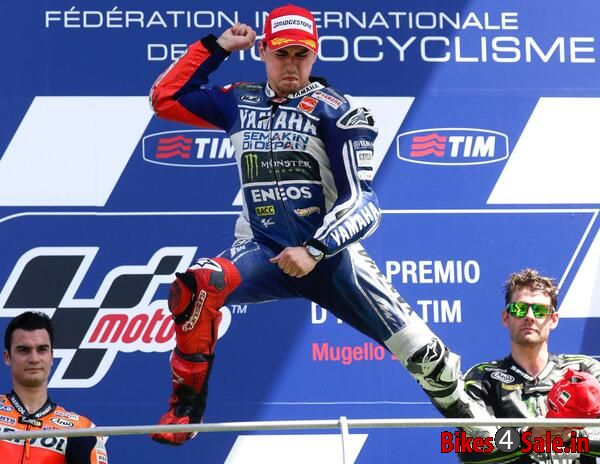 Lorenzo Wins Mugello