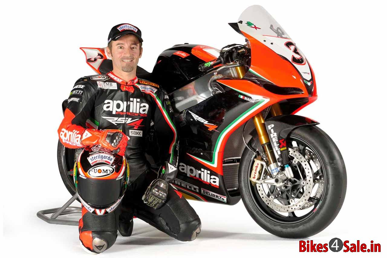 2012 World Superbike Champion Max Biaggi