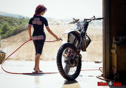 Motorcycle Washing