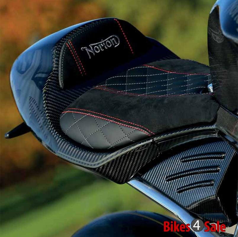 Norton V4 Saddle