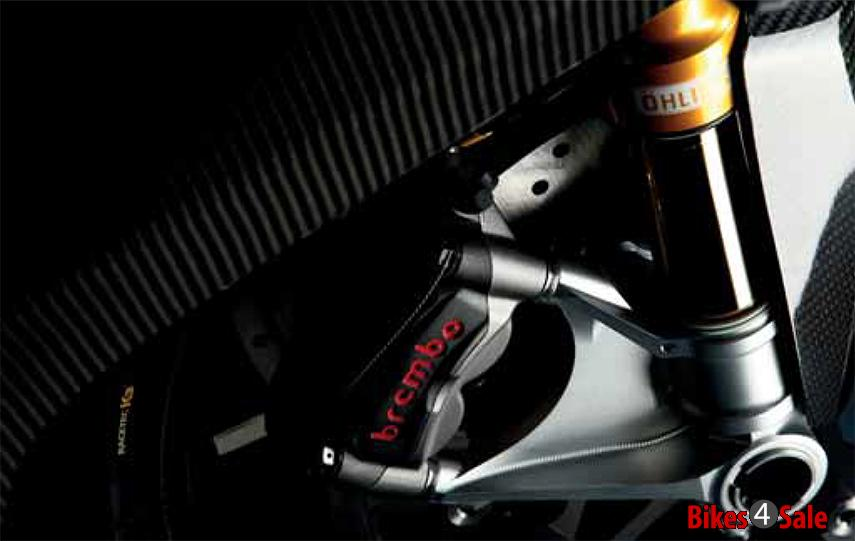 Ohlins Adjustable Suspension Norton V4 Rr