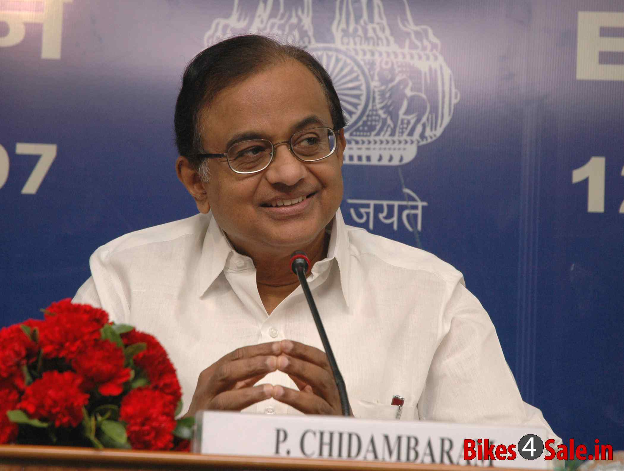 Union Finance Minister India, P. Chidambaram