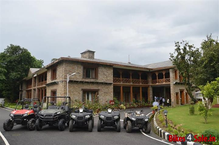 Polaris India's donated ATVs to Uttarakhand Government