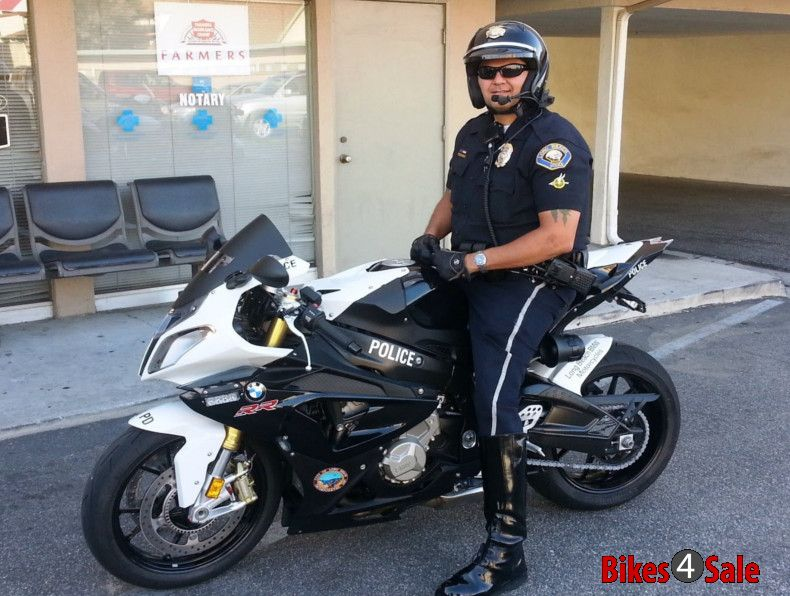 Police Patrol Motorcycle Boots