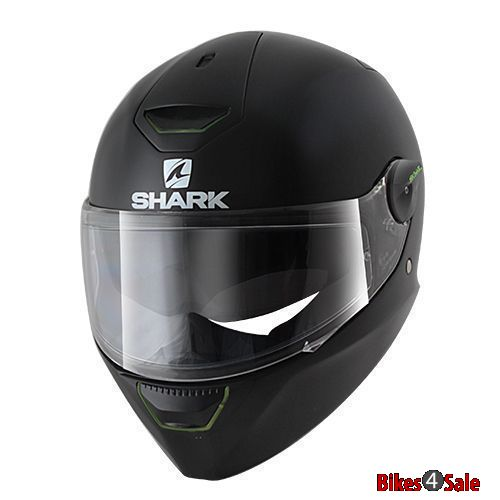 Shark Black Led Helmet
