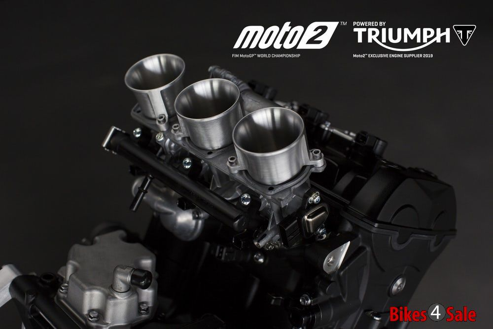 Triumph Moto2 Engines