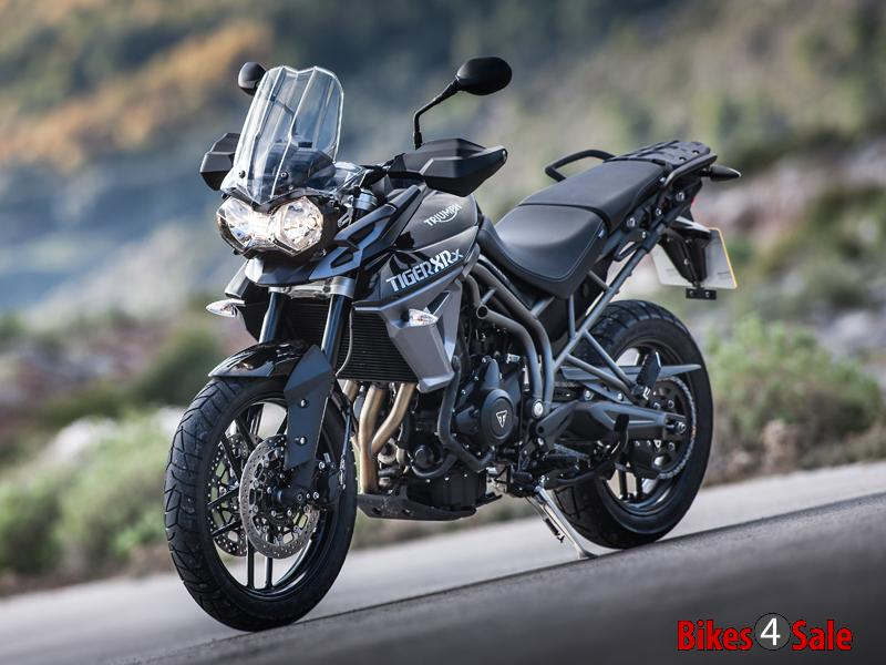 Triumph Tiger 800 Xrx Black