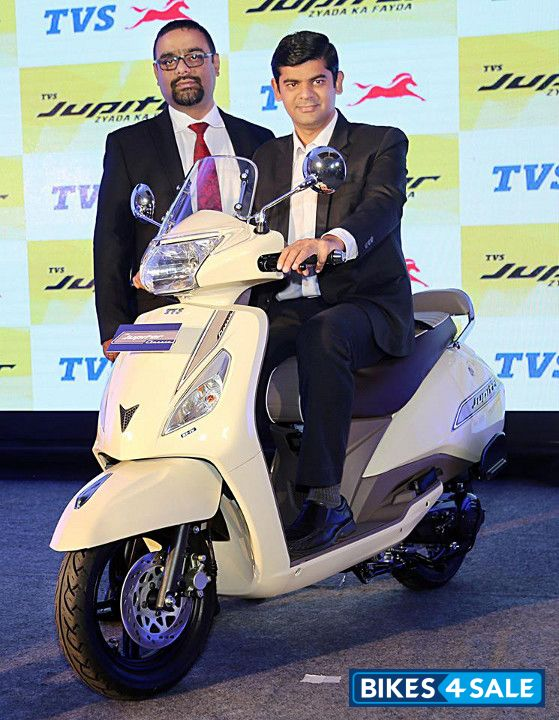 Tvs Jupiter Classic Edition Launch Event