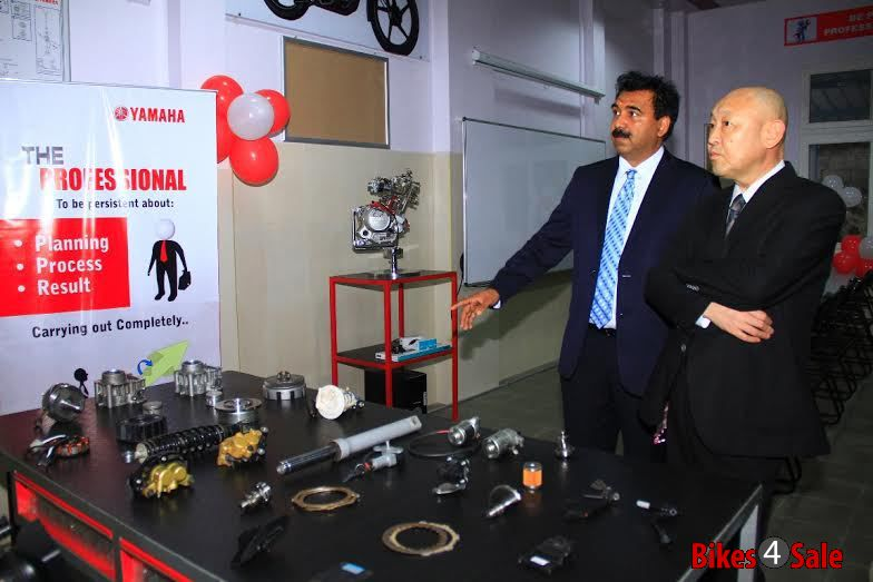Yamaha India Technical School Inaugurated