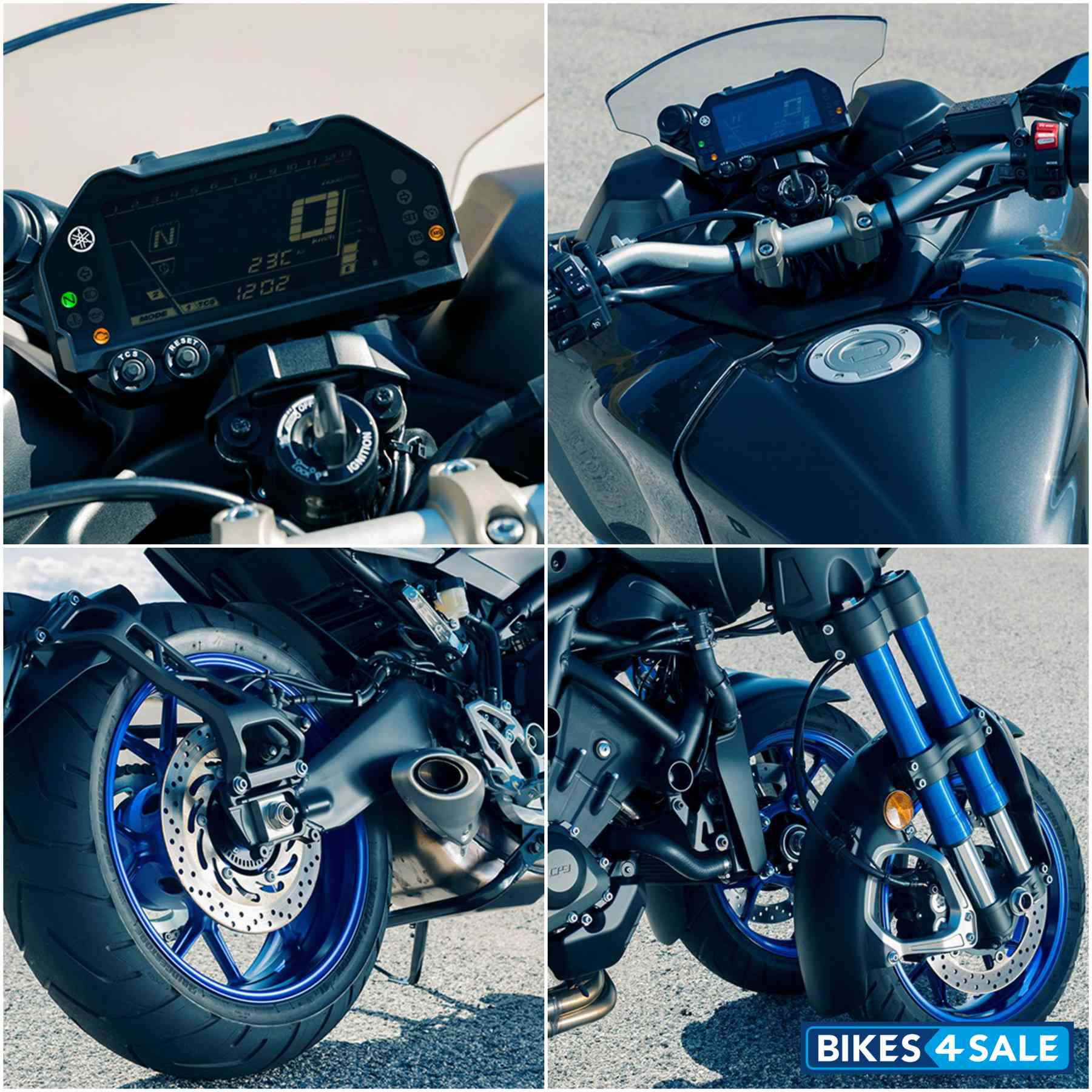 Yamaha Niken Collage